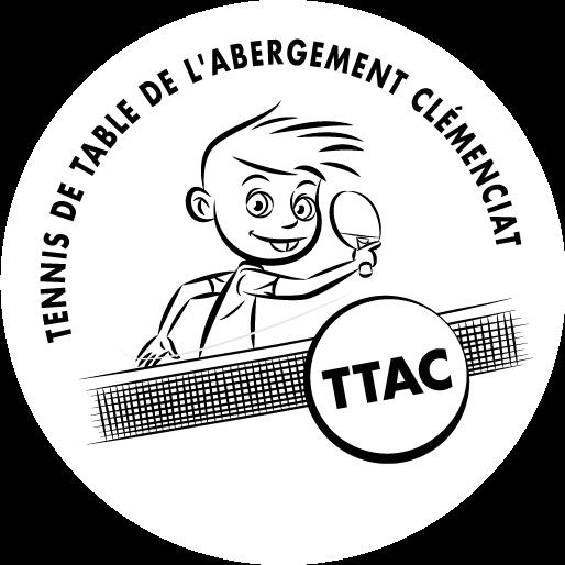 Logo de l'association de ping-pong de l'Abergement-Clémenciat